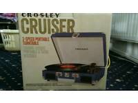 Brand New Crosley Cruiser Record player