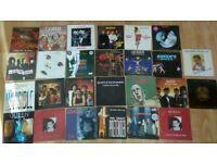 "26 x 7"" queen / freddie mercury / roger taylor vinyl collection"