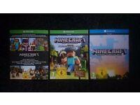Minecraft xbox one edition game