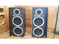 Vintage Rare Wharfedale Ventana Speakers Full Working Order Excellent £210 OVNO