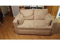 Free 2 Seater Sofa-bed ** collection only **