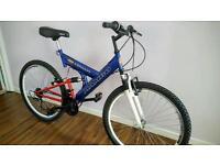 "Full suspension mountain bike 26"""