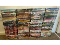 Over 120 DVDS all different varieties