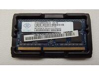 Nanya 4GB DDR3 2RX8 1333MHz PC3-10600S 204pin SO-DIMM RAM Laptop Memory