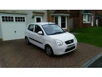 Kia Picanto 2009(59). Low mileage 39,200. MOT Sep 2017. 1 owner since new.