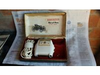 Rollamatic Shaver with receipt 1963.