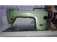 Consew Industrial Sewing Machine Model 210B Heavy Duty Machine.
