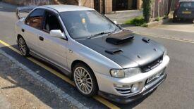 1993 Subaru Impreza WRX, Import, TDO5, Version 1, Modified