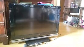 """Sony Bravia KDL-32W4000 - 32"""" Widescreen 1080P Full HD Bravia LCD TV - With Freeview"""
