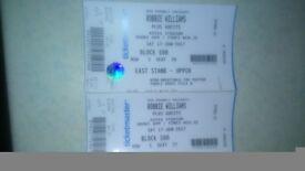Robbie tickets Croke Park Sat 17th June 2017