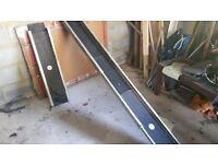 Aluminium ramps