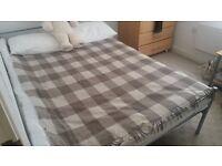 Pure wool blanket