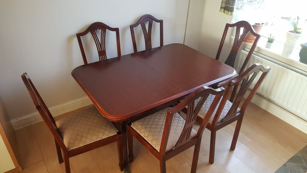 Dining Table With 6 Chairs Leicester