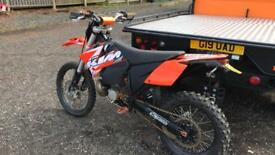 KTM 250SX 2005 (2009 ROAD REGISTERED)