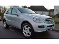 2006 Mercedes Benz ML320 CDI Sport AMG Diesel Excellent inside and out, Full service history, 2 keys