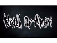 Metal Band seek Lead Guitarist