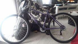 Ladies mountain bike hardley used