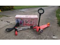 Mini micro 3in1 scooter with scootow parent handle