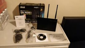 ASUS DSL-AC68U 1900 Mbps Wireless AC Router and Modem 11905 (90IG00V1-BM3G00)