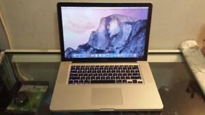 "2010 15"" Macbook Pro with Intel Core i5 Processor, Webcam, DVD and Wireless for Sale"