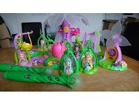 Lite Sprite Fairy Bundle Light up wand and tree plus fairies and playsets
