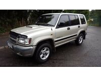 ISUZU TROOPER 3.0 TURBO DIESEL 4x4 TOWBAR **YEARS MOT**VERY CLEAN**MUST BE SEEN**