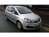 2005 Vauxhall Zafira 1.6 i 16v Life 5dr MPV, FSH, Warranty and AA Breakdown available, £1,595