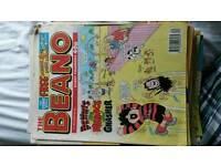 Beano comics 1995-1996 around 55 comics