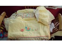 Mama's and Papa's - Snail Trail Cot Duvet Cover, Valance, Bumper and Curtains