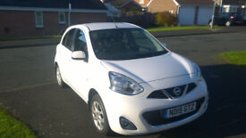 NISSAN MICRA ACENTA 2015 SAT NAV IMMACULATE THROUGHOUT MANUFACTURES WARRANTY 1 OWNER