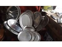 CATERING STAINLESS STEEL OVALS & ROUNDS