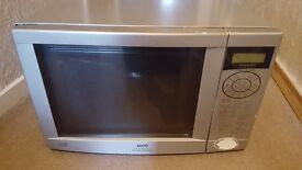 Microwave oven grill