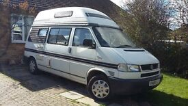 1999 VW T4 2.5 TDI Diesel Automatic Topaz Campervan(2 berth). Price £16,000. New MOT until June 2018
