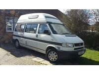 1999 VW T4 2.5 TDI Diesel Automatic Topaz Campervan(2 berth). Price £16,000. New MOT until June 2018