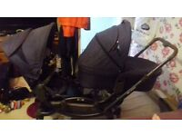 I have an Obaby ABC zoom tandem comes with carrycot and 2 seat units only 8 weeks old in ex con