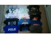 30 piece + Boys clothes bundle age 5-7 inc tshirts jeans jumpers tracksuits