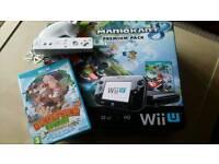 Wii U Console, 32GB, Mario Kart 8 Premium Pack