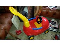Baby push car by Moby