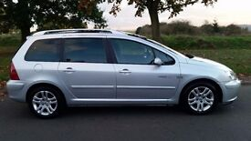 2004 Peugeot 307 Manual 7Seates 1.6 Petrol With 12 Month MOT PX Welcome