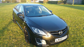 MAZDA 6 TSPORT 2.2 MZR-CD 185 BHP FSH 2 owners Top of the range not A4 tdi, 320d , A3 , c220cdi