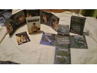 Rocky anthology and rambo complete collection
