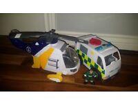 Imaginext emergency service bundle