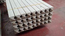 🌟 Concrete Fence Posts & Base Panels