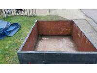 Used good condition 6x3 18 inch deep digby trailer
