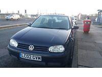 Volkswagen Golf 1.6 Petrol Blue Sun Roof