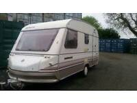 1991 sprite touring caravan with porch awning and extras