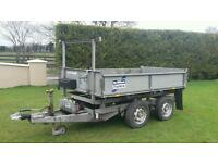 Ifor Williams tipper 8x5 09 in year