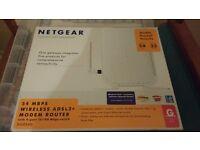 Netgear wireless ADSL2 modem router