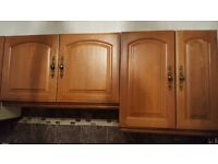 Kitchen Cupboards / doors and Glass Cupboards (Solid Oak)