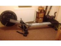 Exercise rower hasn't been used in a while but works fine and in good condition £45